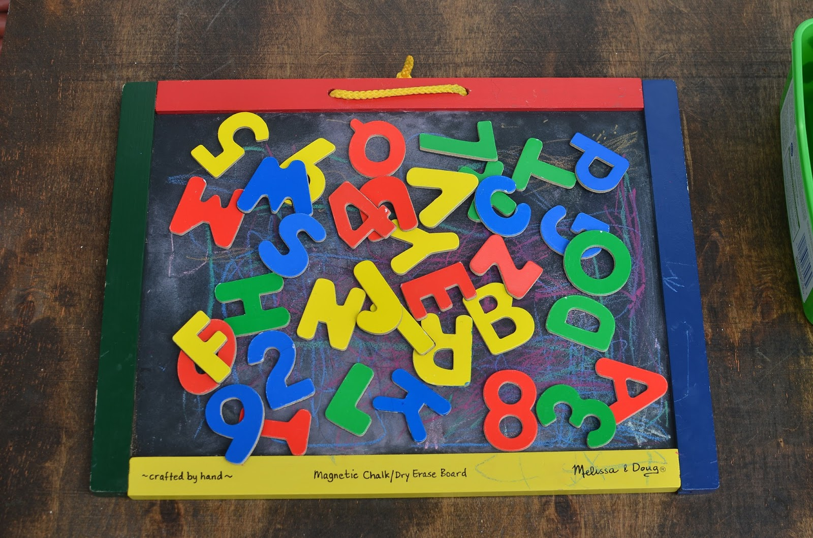 melissa and doug alphabet magnetic