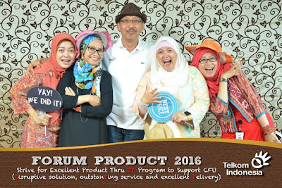 photo booth acara launching produk baru