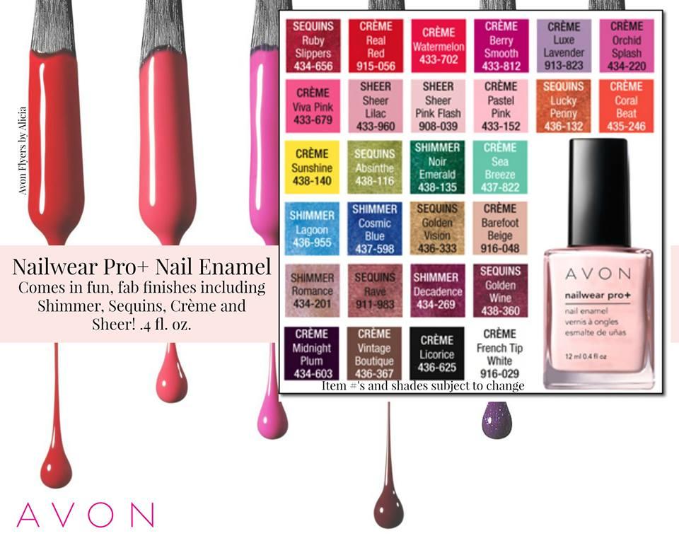 Avon Nailwear Pro Colors