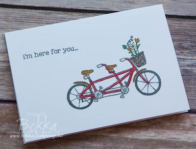 Make In A Moment Support Card featuring products from Stampin' Up! UK
