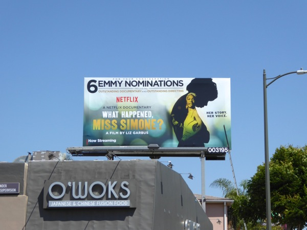 What Happened Miss Simone Emmy 2016 billboard
