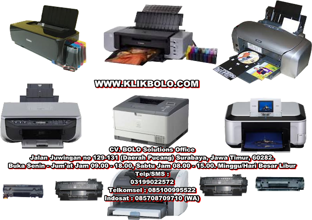 JASA SERVICE PRINTER INK JET, DOT MATRIX, LASER JET SURABAYA