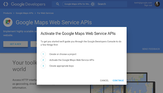 Introducing a more flexible option to purchase the Google Maps Web Service APIs