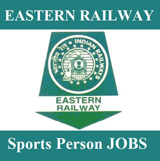Eastern Railway, West Bengal, WB, RAILWAY, Railway, 12th, Sports Person, freejobalert, Sarkari Naukri, Latest Jobs, eastern railway logo