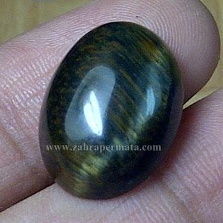 Batu Permata Black Tiger Eye - ZP 745