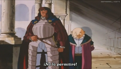 Berserk, Edad Dorada, anime 1997, Julius, Foss