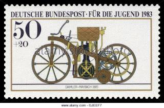 www.fertilmente.com.br - Eventualmente até uma série de selos foi emitida em homenagem ao Reitwagen