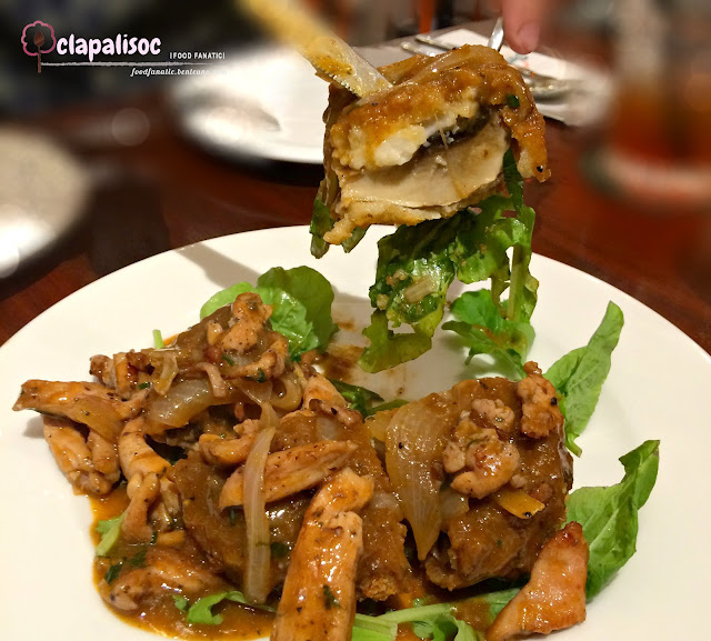 Funghi Portobello con Pollo from Peperoni Pizzeria PH