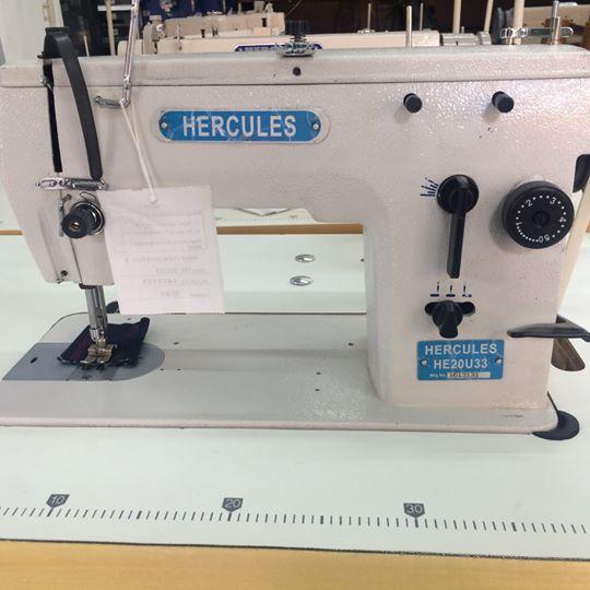 Hercules 20U una máquina de coser china, comercializada por una empresa japonesa