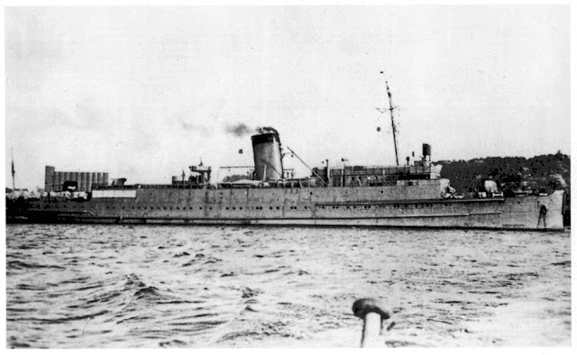 German tanker Lothringen 15 June 1941 worldwartwo.filminspector.com