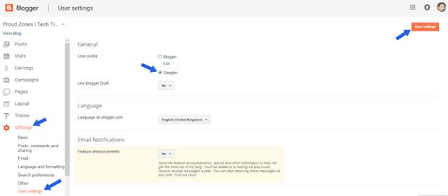 Adding Author Gadget Using Google+