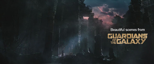 Beautiful scenes from Guardians of the Galaxy