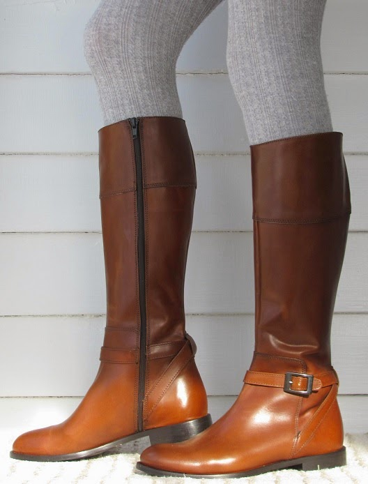 Model SoleMani Womenu0026#39;s Ana Cognac Leather Narrow Calf [ana Ban] - $179.99  Slim And Skinny Calf Boots ...