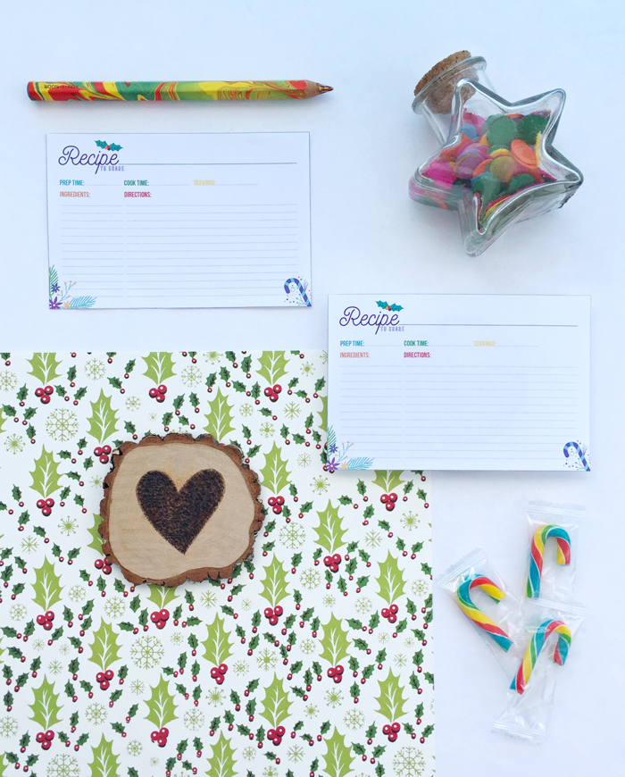 Free printable colorful recipe cards, cooking, entertaining, holiday planning, color wheel, color love