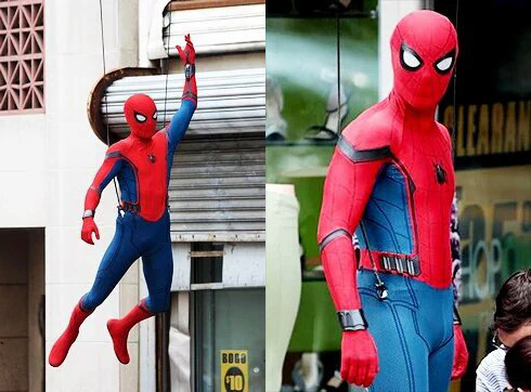 「スパイダーマン:ホームカミング」撮影現場写真&動画 スパイダーマンが通行人から自転車を拝借!?
