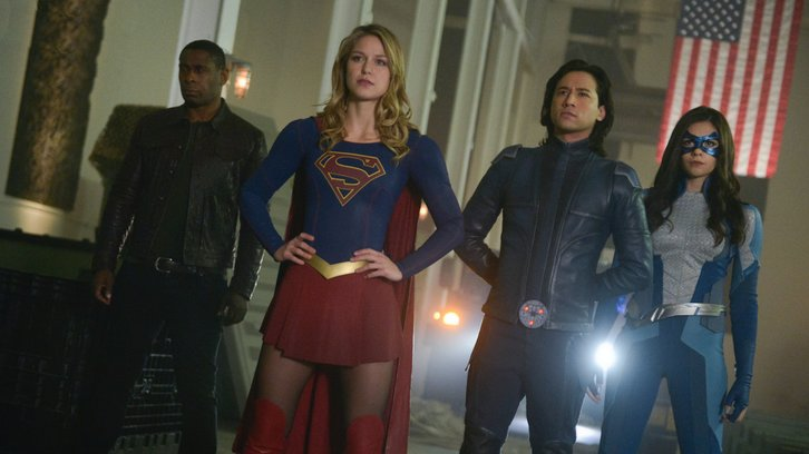 Supergirl - Episode 4.13 - What's So Funny About Truth, Justice, and the American Way? - Promo, Promotional Photos + Press Release