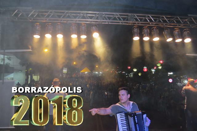 BORRAZÓPOLIS SHOW DA VIRADA - FESTA DE FIM DE ANO 2017/2018