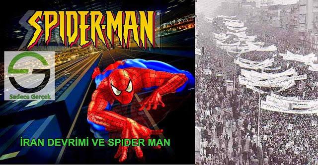 İran Devrimi Örümcek Adam