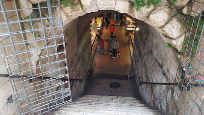 segrete del Palazzo Diocleziano