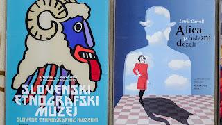 Lot of art around the Metelkova Art Center