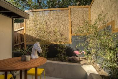 รั้วไม้ไผ่สไตล์ญี่ปุ่นขนาดเล็ก