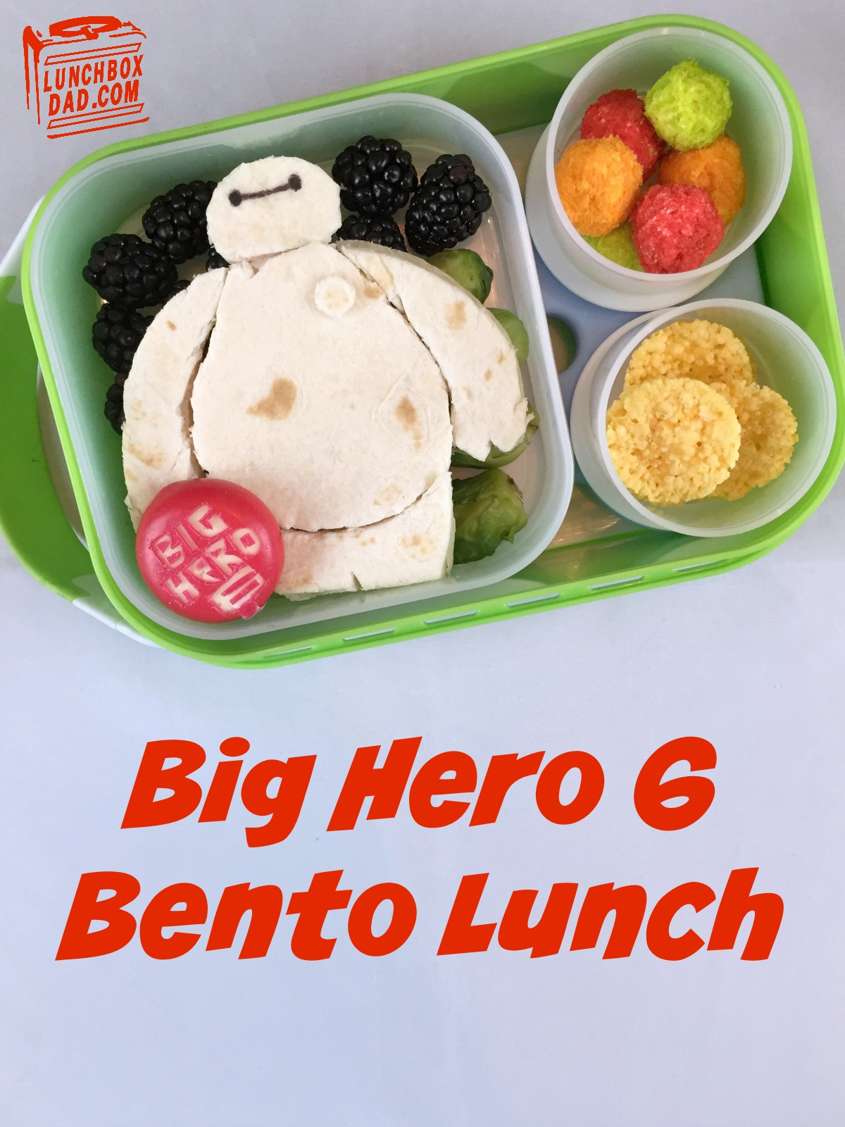 Big Hero 6 superhero bento lunch