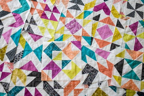 Over and Above Quilt Setting Tutorial - In Color Order