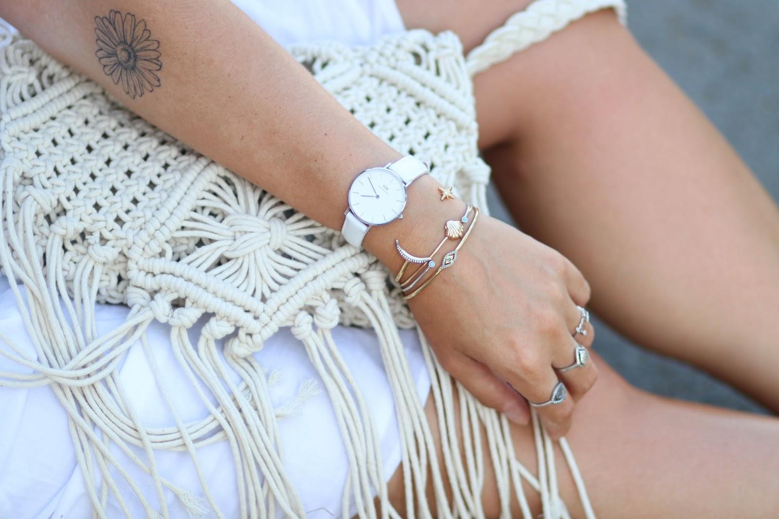 montre blanche daniel wellington parisgrenoble