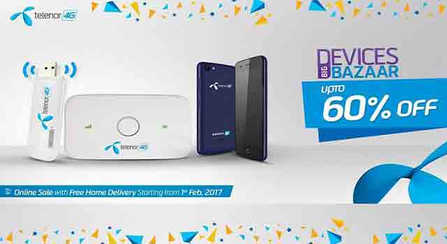 Telenor brings Telenor Devices Big Bazaar Discount Offer