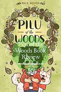 book reviews, book review, pilu of the woods, graphic novel, graphic novel review, childrens books,