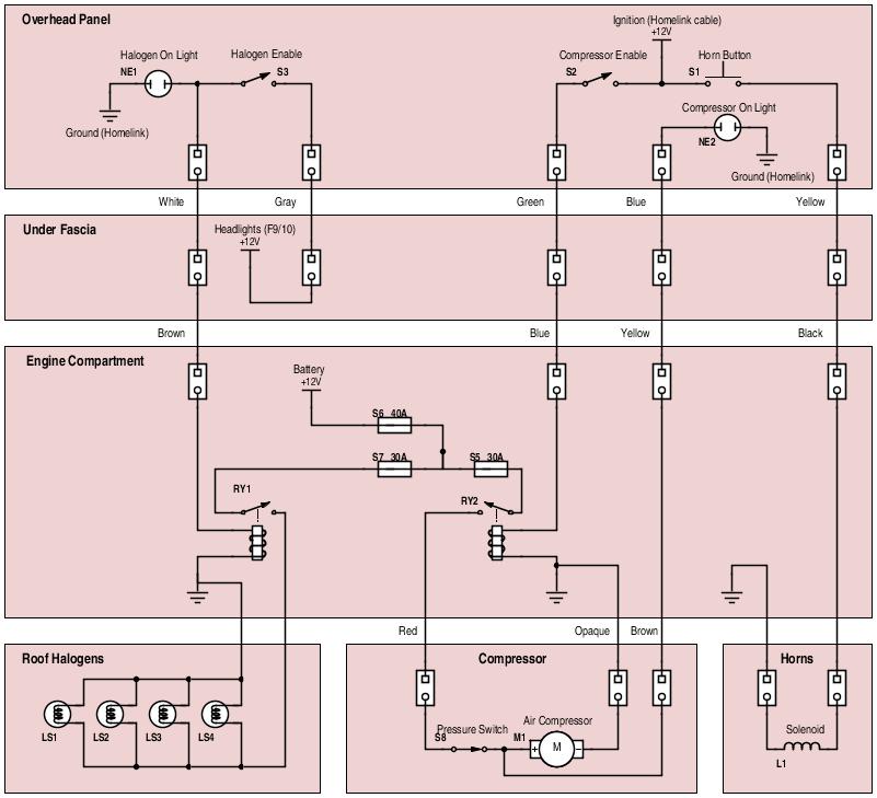 train horn wiring install silverado wolo train horn wiring diagram #11