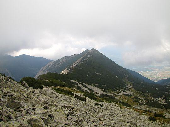 Przełęcz Suchodolski Prewał (bułg. Суходолски превал; 2550 m n.p.m.).
