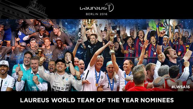 El Barça y Messi, nominados a los Premios Laureus 2016