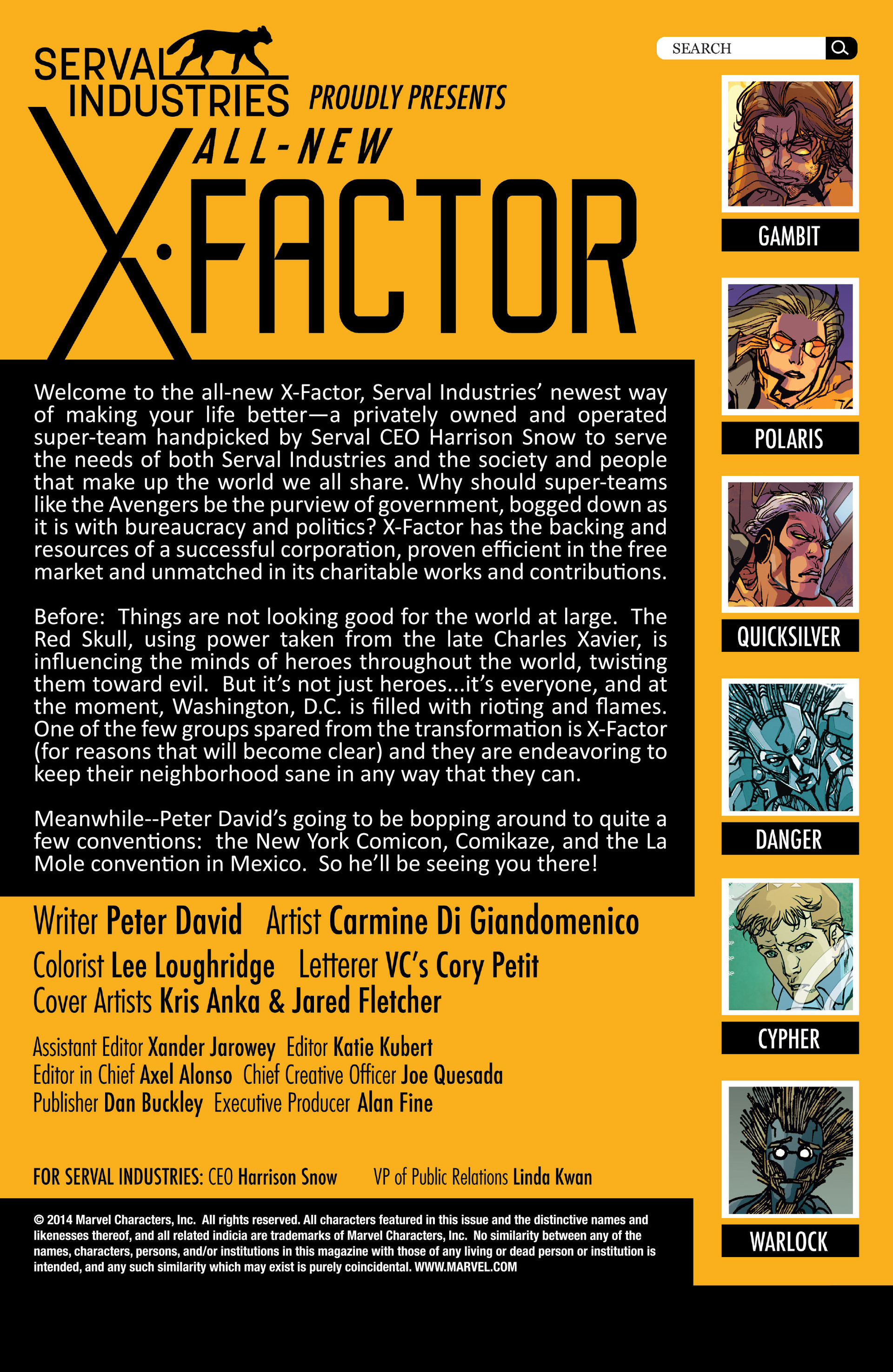 Read online All-New X-Factor comic -  Issue #15 - 2