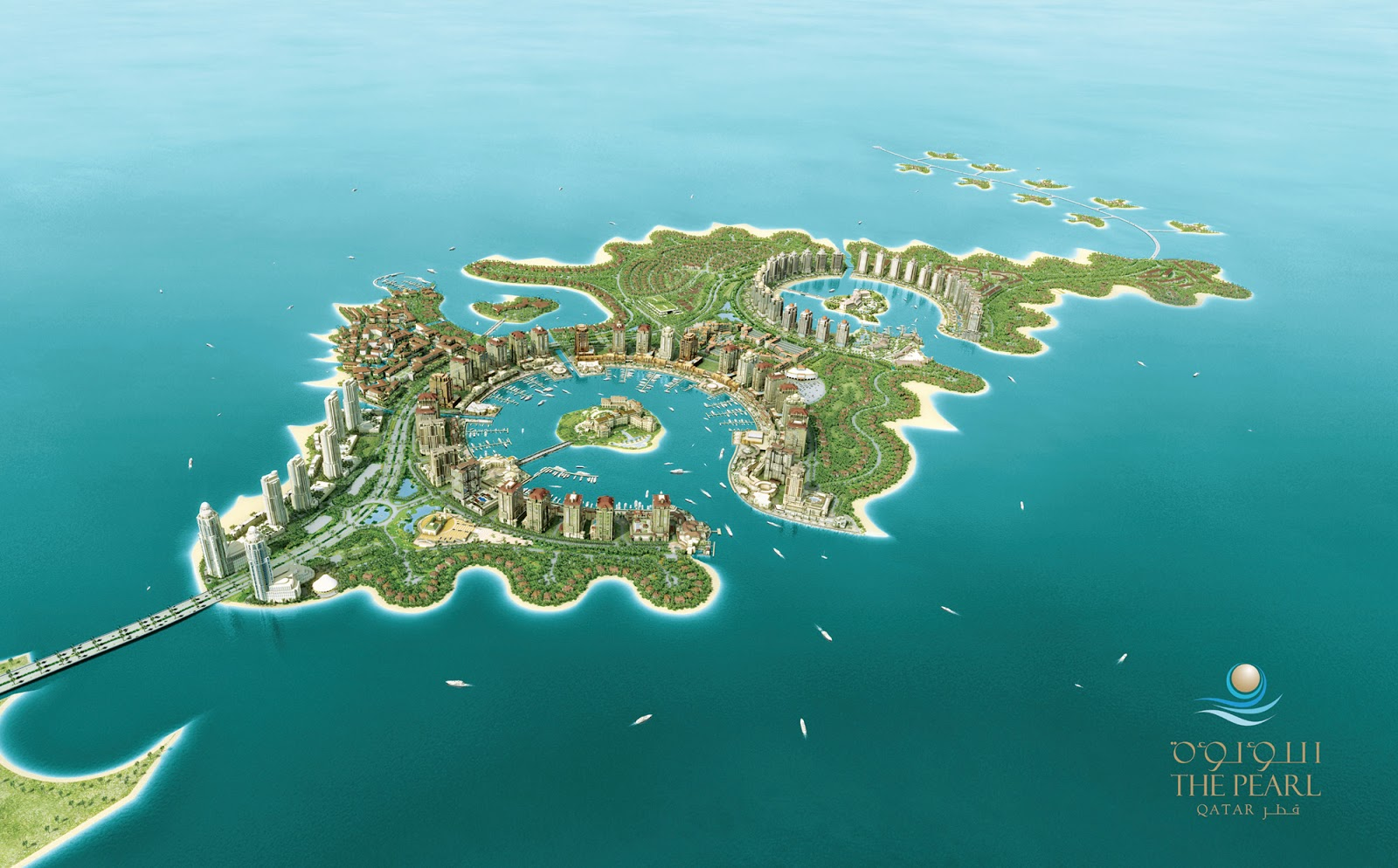 6 Amazing Artificial Island In The World You Must Know About This