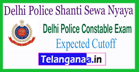 Delhi Police Shanti Sewa Nyaya Constable Expected Cutoff 2017 Merit List