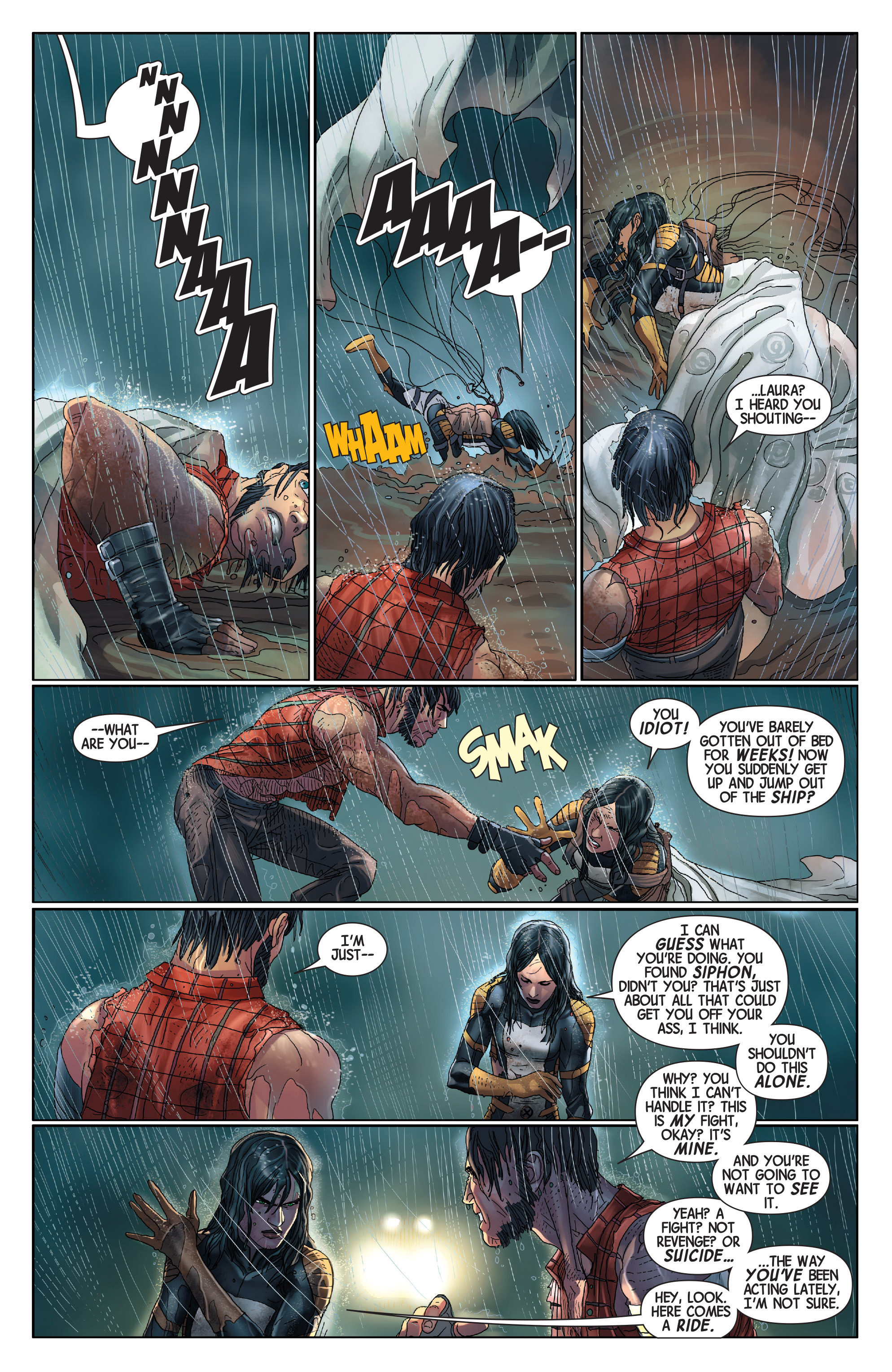 Read online Wolverines comic -  Issue #14 - 9
