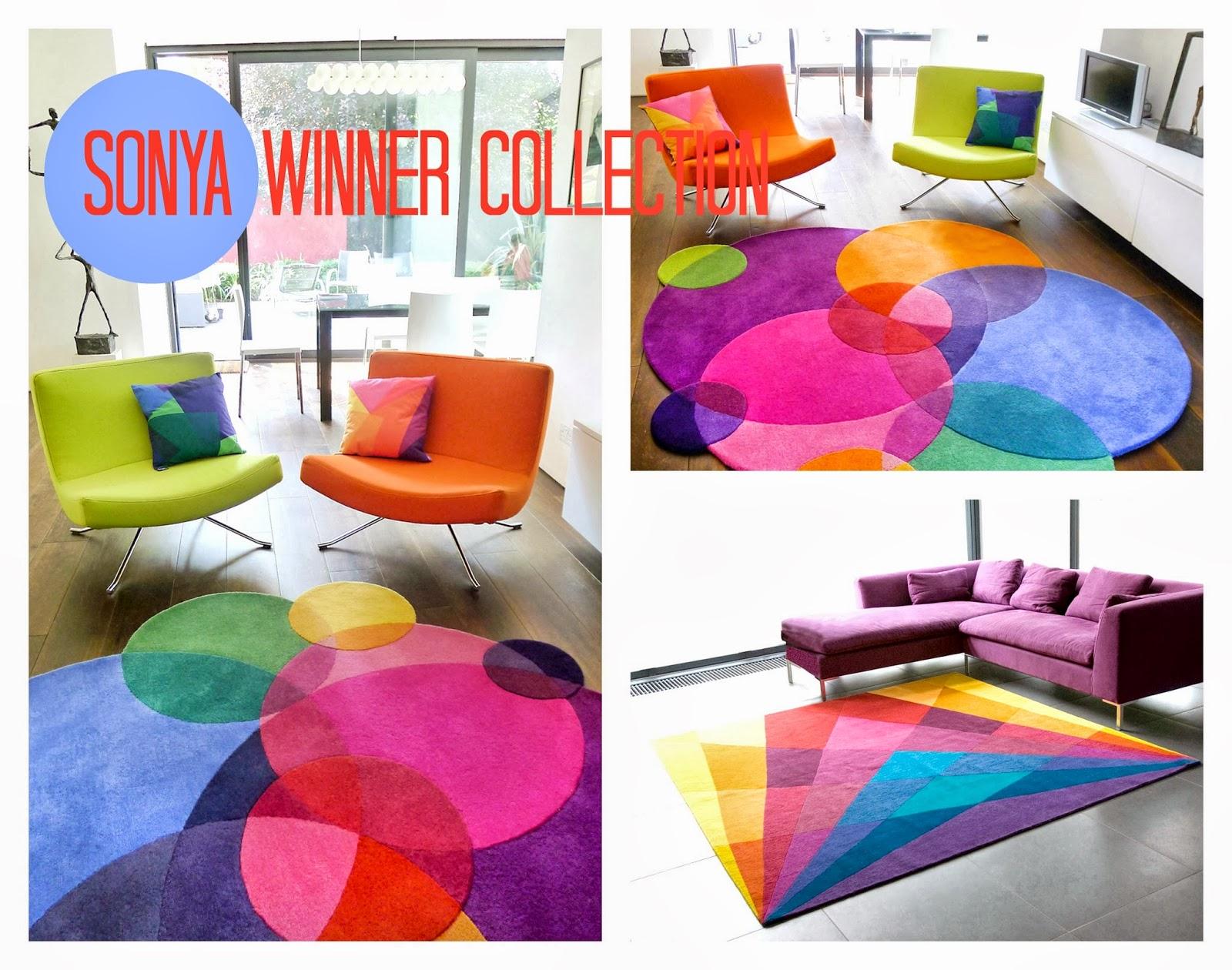 kolorowy dywan
