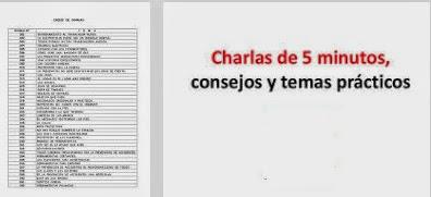 Resultado de imagen para CHARLAS CINCO MINUTOS