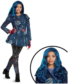 Girls Disney's Descendants 2 - Evie Deluxe Children's Isle Look Kit