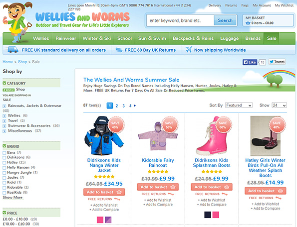 http://track.webgains.com/click.html?wgcampaignid=150869&wgprogramid=7937&wgtarget=http://welliesandworms.co.uk/shop/special-offers.html