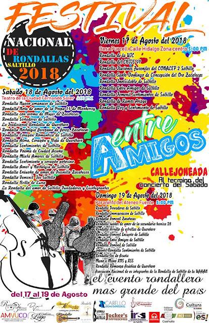 festival de rondallas de saltillo 2018