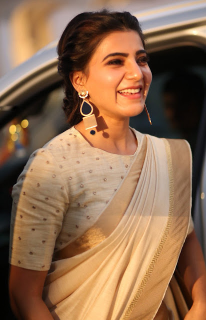 Actress Samantha New Photos in Saree