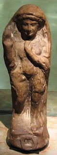 Статуя на богинята Ашера музей Хехт Израел