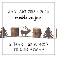 52 weeks to Christmas is 5 jaar!!!