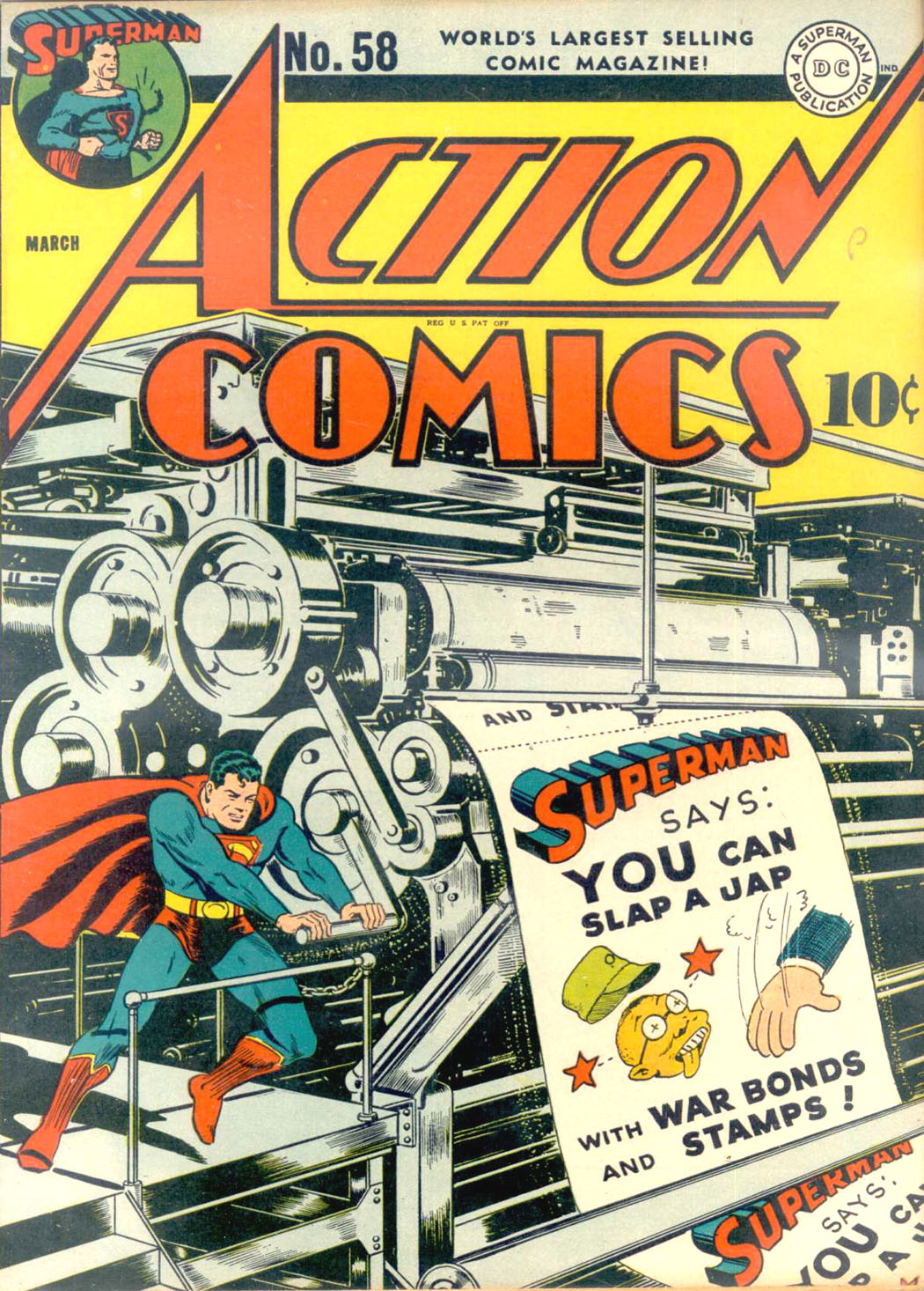 Read online Action Comics (1938) comic -  Issue #58 - 1