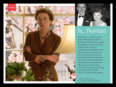 "DISNEY'S ""SAVING MR. BANKS"" BOOK GIVES FANS A SUPERCALIFRAGILISTIC BEHIND-THE-SCENES LOOK AT THE MAKING OF THE TIMELESS CLASSIC ""MARY POPPINS"""