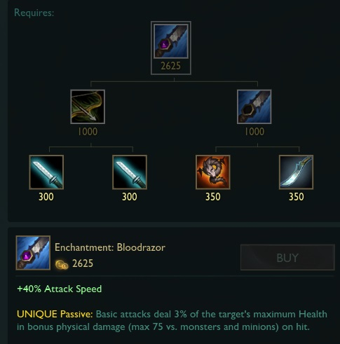Oppinions on the Devourer replacement and Rageblade changes on PBE