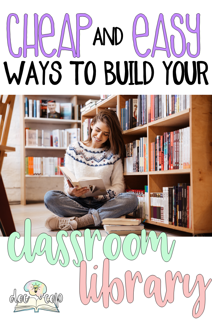Building your classroom library can be both cost efficient and fun! Check out these 7 places to find cheap choice reading books for your secondary students.