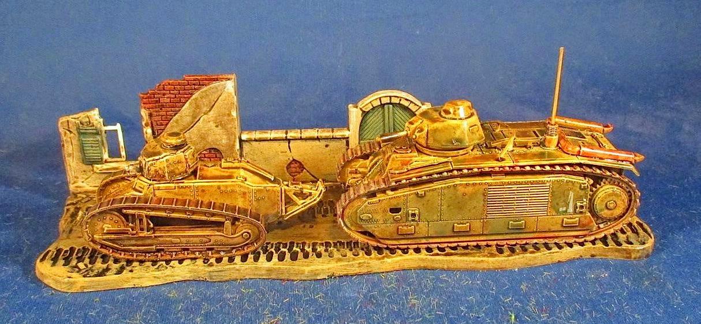 Bob's Miniature Wargaming Blog: Tutorial: Painting 1/72